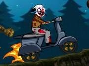 zombie in curse de scutere